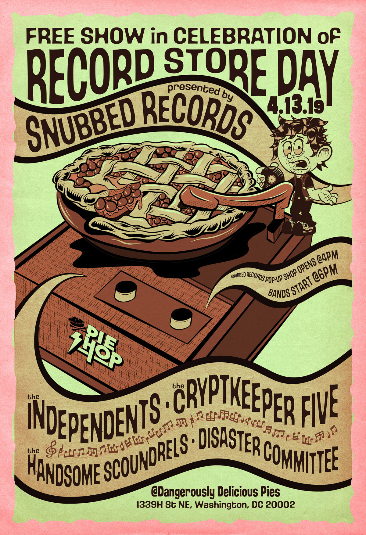 Record Store Day – Snubbed Records – Poster