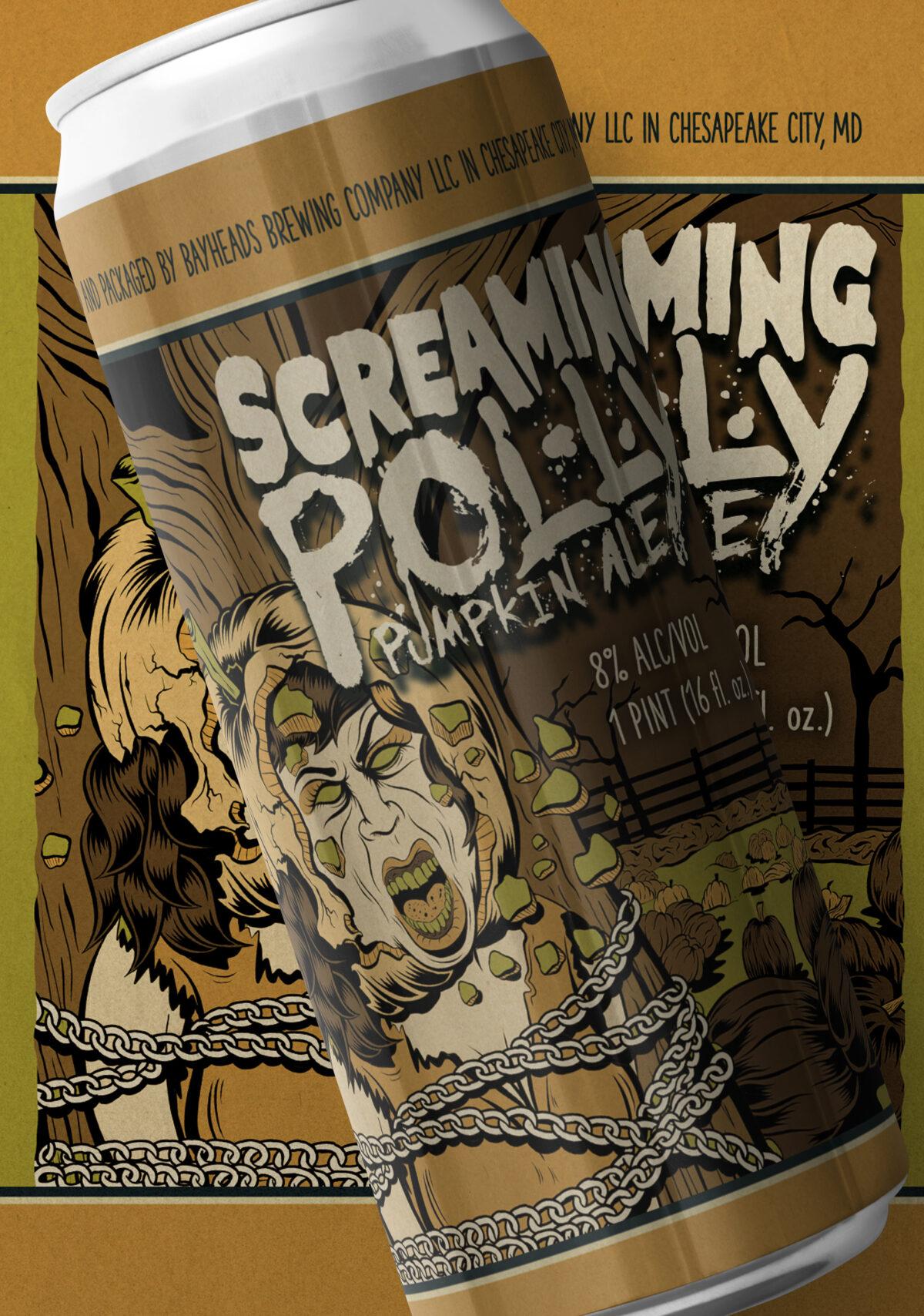 Screaming Polly – Pumpkin Ale – Bayheads Brewing Company